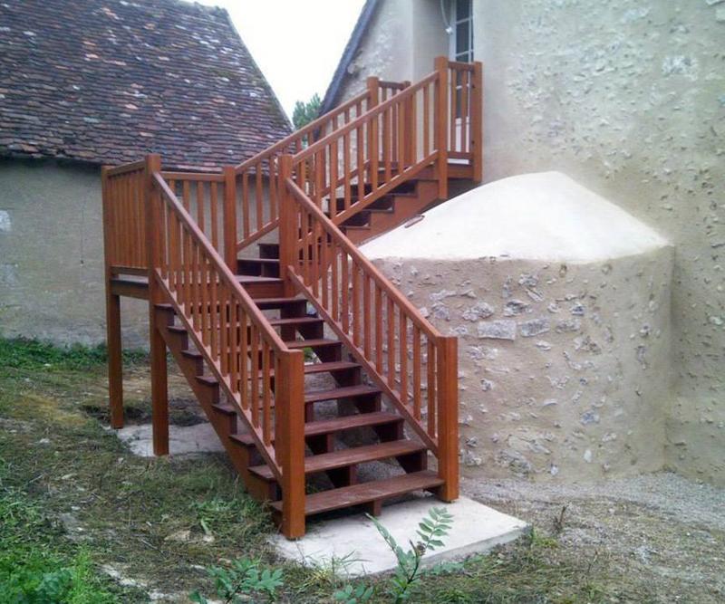 Escalier sur-mesure bois